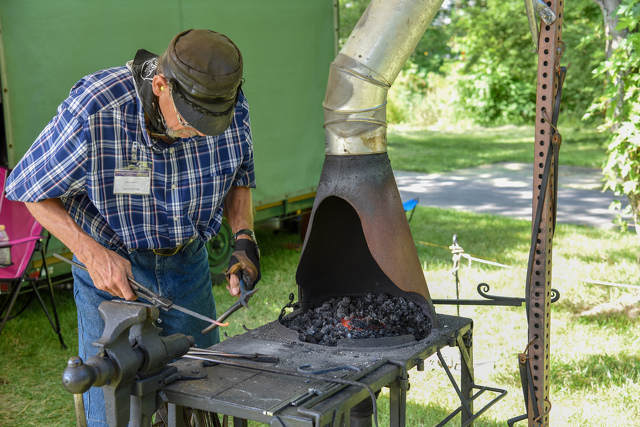 Blacksmith's Skills on Display at People's Choice