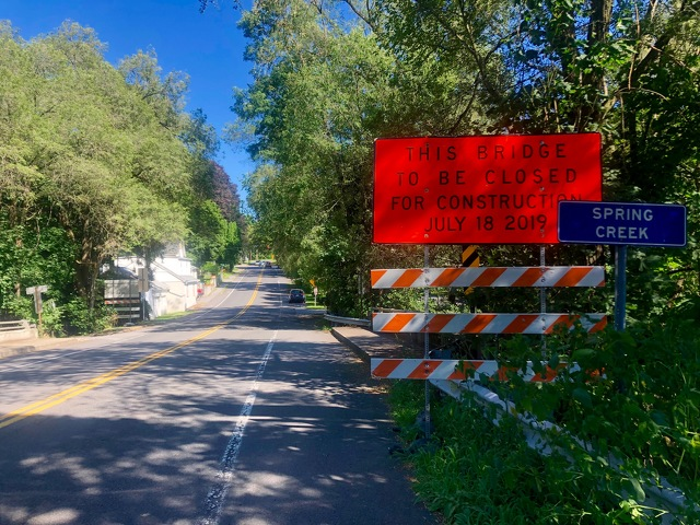 Detour to Be in Place for Bridge Work in Lemont