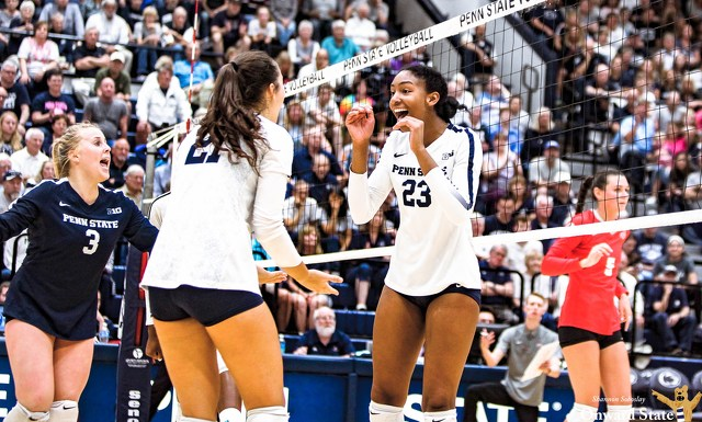 Penn State Women's Volleyball Ranked No. 8 in Preseason Coaches' Poll