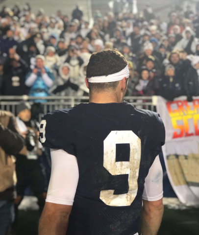 finest selection 42050 3ac32 State College, PA - Penn State Football: McSorley Throws ...