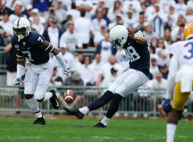 The National: Penn State's Statistical Rankings Heading Into Big Ten Plan