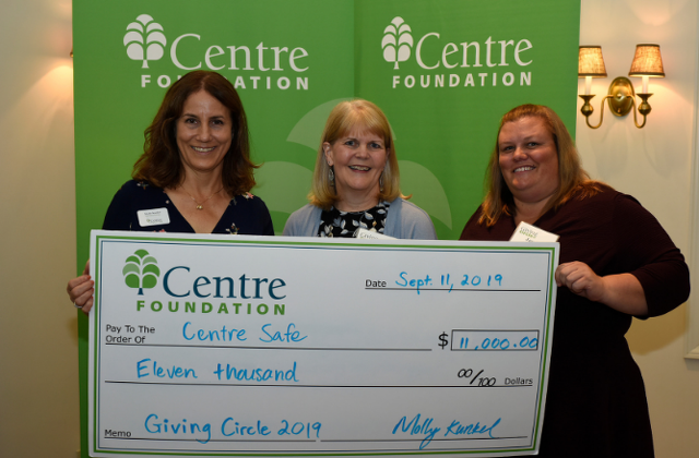 Centre Safe to Build Outdoor Play Area at Child Access Center with Giving Circle Grant