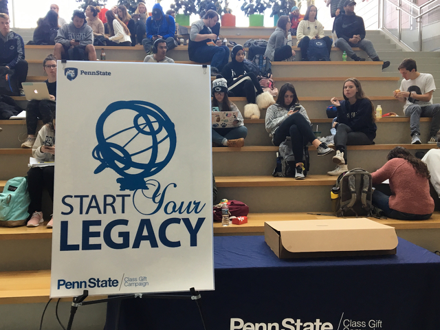 Penn State Seniors to Fund Endowment for Counseling and Psychological Services with 2020 Class Gift