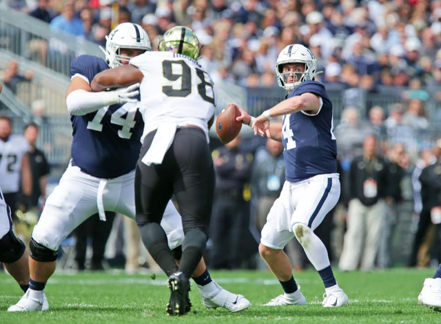 Penn State Football: Finding Deep Threat A Complex Obstacle