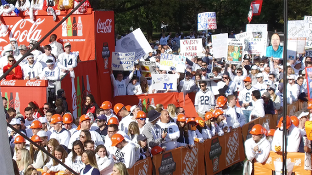 Penn State Gets Ready for College GameDay
