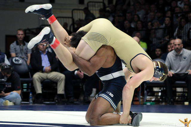 Penn State Wrestling's Newcomers Shine in Dual Debuts
