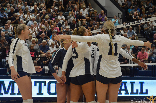 No. 7 Penn State Women's Volleyball Takes Down No. 5 Wisconsin in Five-Set Thriller