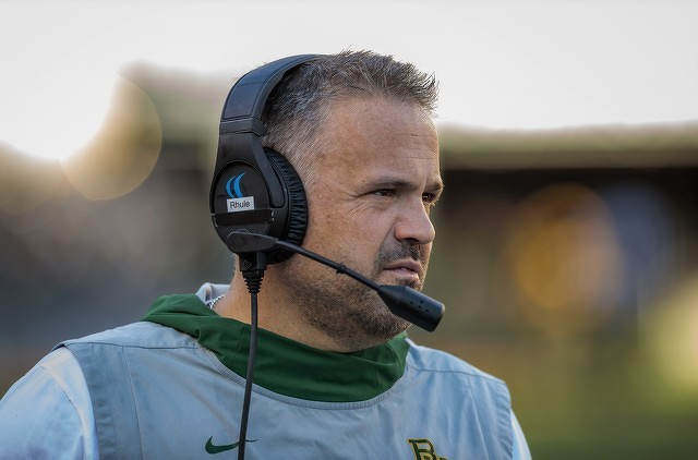 Matt Rhule to NFL's Panthers: Sweet Carolina!
