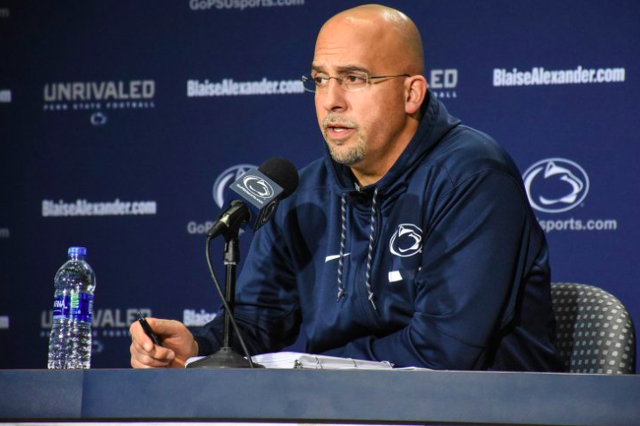 Penn State Football Wide Receivers Coach Gerad Parker Leaving to Become West Virginia's Offensive Coordinator