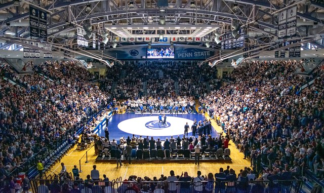 A Weekend to Remember for Penn State Wrestling's Creighton Edsell