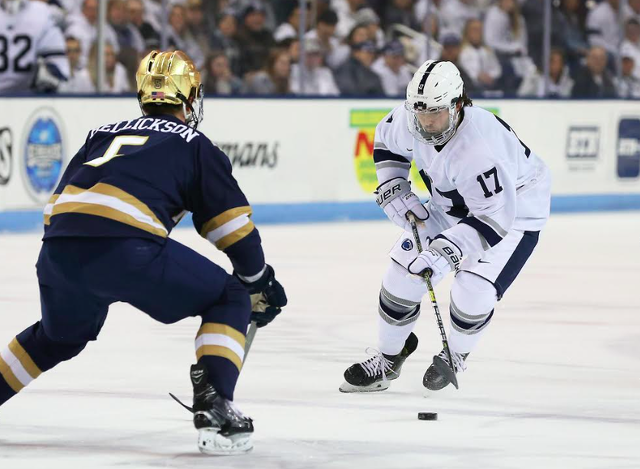 Penn State Hockey: Nittany Lions Claw Back, but Fall Late 4-2 to Notre Dame