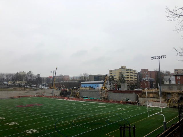 Memorial Field Renovations on Track for Summer Completion
