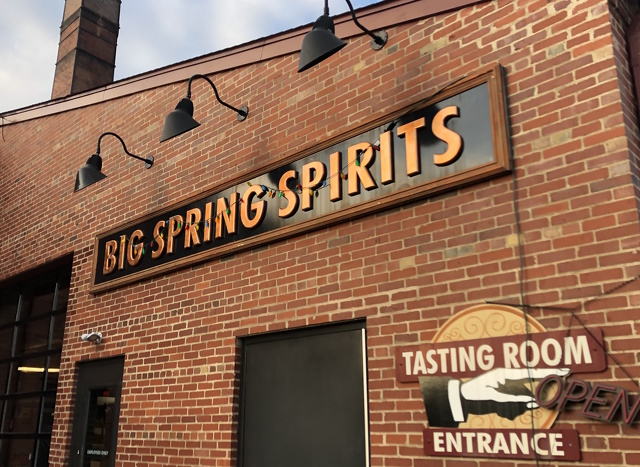 Big Spring Spirits Makes Hand Sanitizer for First Responders