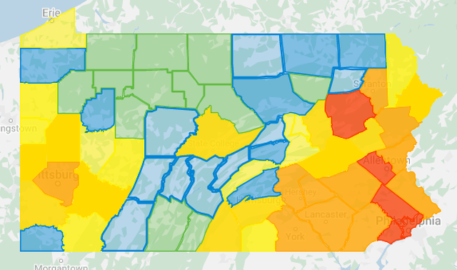 1 New COVID-19 Case in Centre County as Statewide Total Nears 23,000