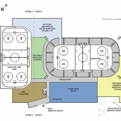 Penn State Ice Arena to Require Zoning Change