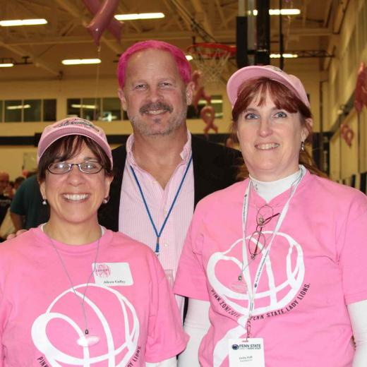 state college pa photo essay penn state pink zone shows power  aileen galley