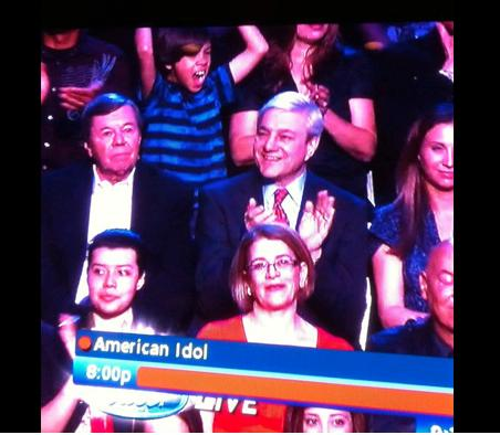 Spanier Confirms: 'Yes, That Was Me' in 'American Idol' Audience