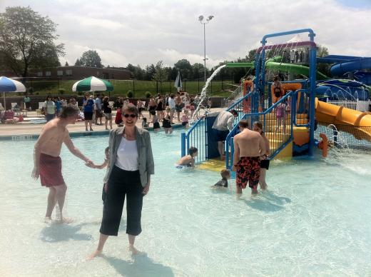 New Welch Pool: It's Certainly Not Your Parents' Pool