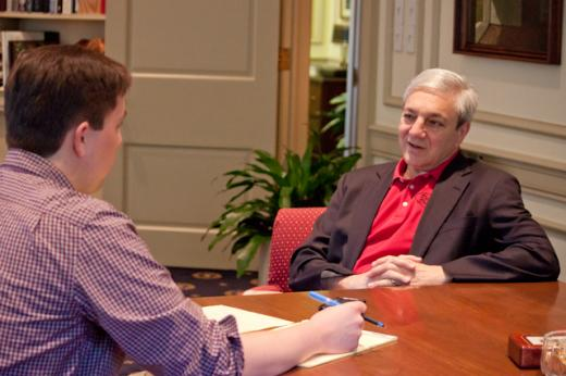 Graham Spanier interview