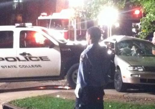 State College Sergeant Faces Citation after Foster-Locust Collision