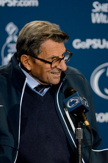 Penn State Football: Paterno Could Tie 408 Victory Milestone vs. Northwestern