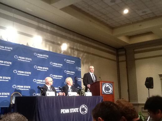 O'Brien Has Five-Year Contract, $2.3 Million Arrangement; More Updates from Penn State Presser