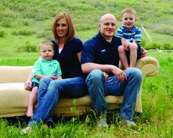 Image result for Cael Sanderson and his wife images