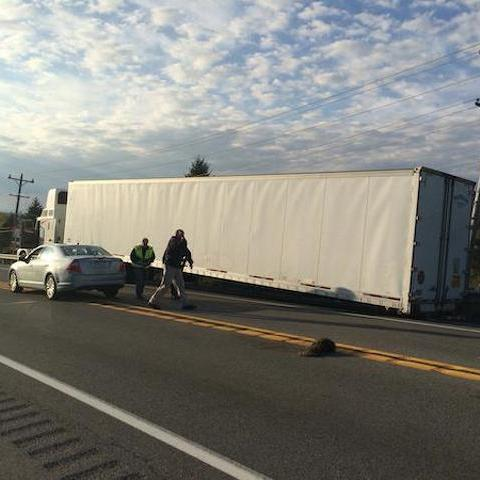 Serious Wreck Shuts Down Route 322, One Person Airlifted to Hospital