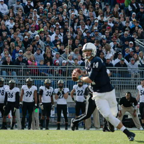 Blue-White Game Countdown / 25 Days: Limiting Hackenberg's Hats As Crucial Season Approaches