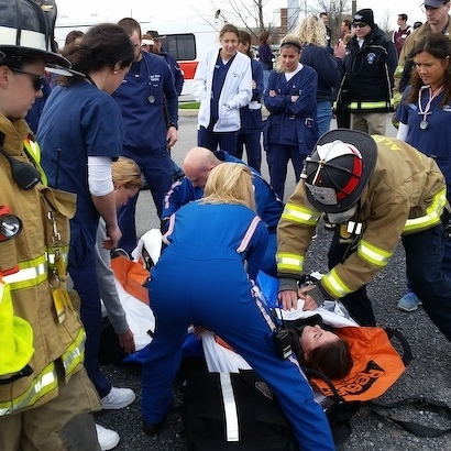 State High Students Experience Crisis in Medical Disaster Drill