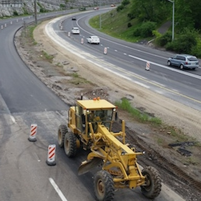 Route 322 Repaving Work Going Into Overdrive and Through the Night