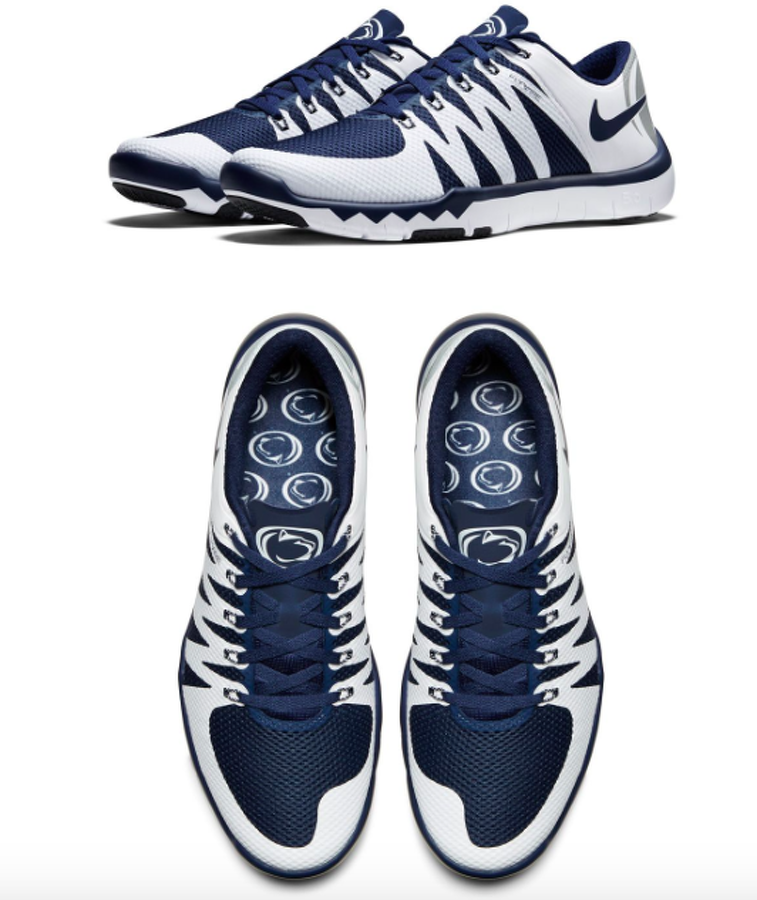 online store fedd8 25ace Penn State Football  Nittany Lions One Of 13 Schools For Nike Shoe  Collection