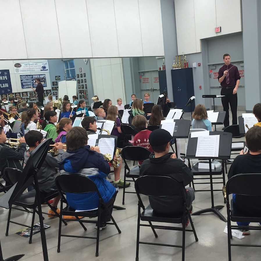 Fifth Graders and Penn Staters Come Together for Concert Tonight
