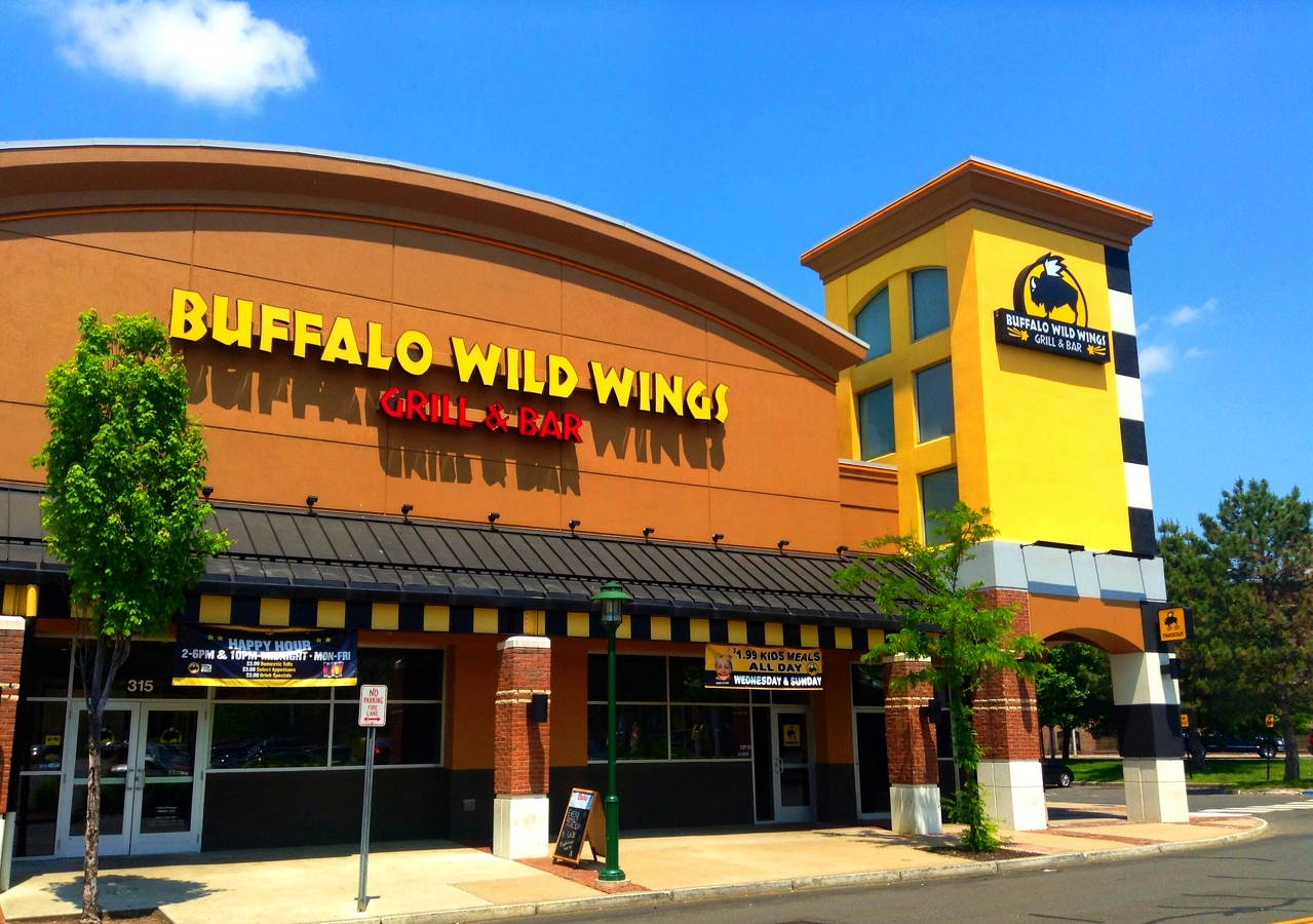 Menu For Olive Garden: Buffalo Wild Wings Planning Restaurant