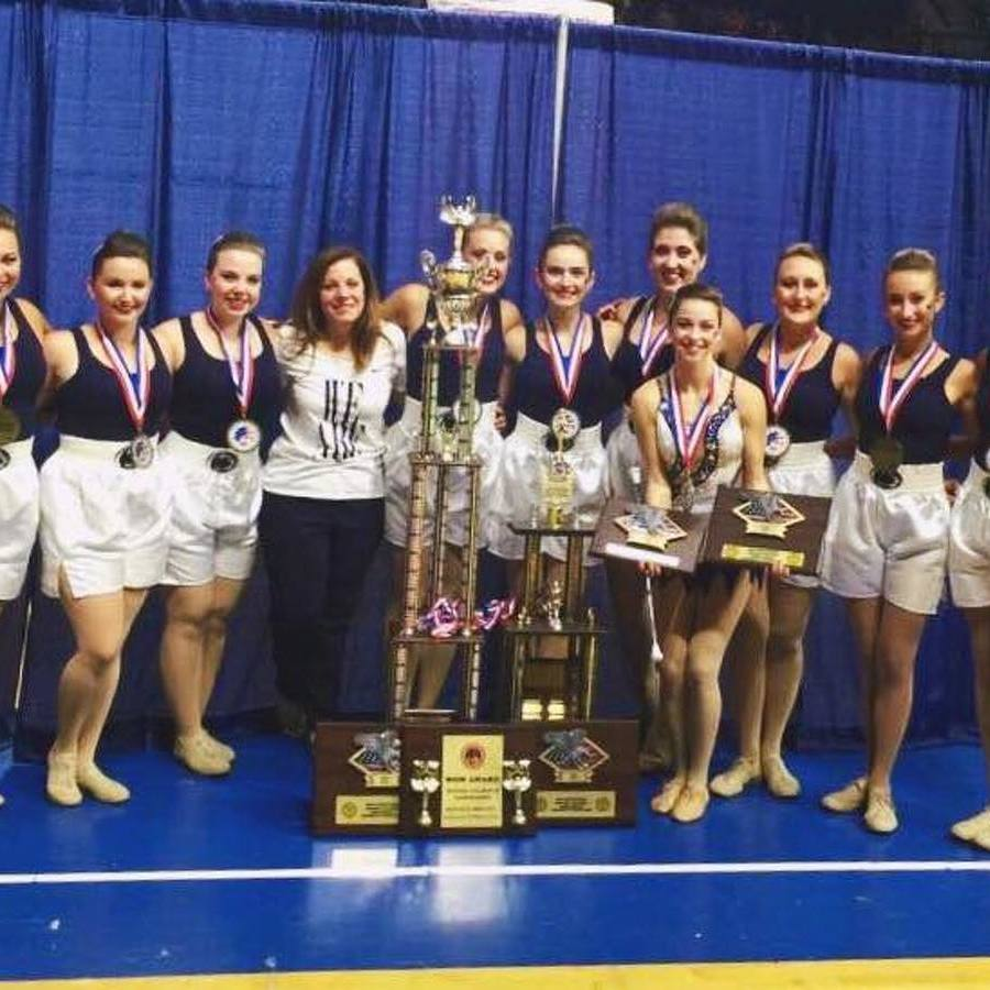 Touch Of Blue Majorettes Win National Championships
