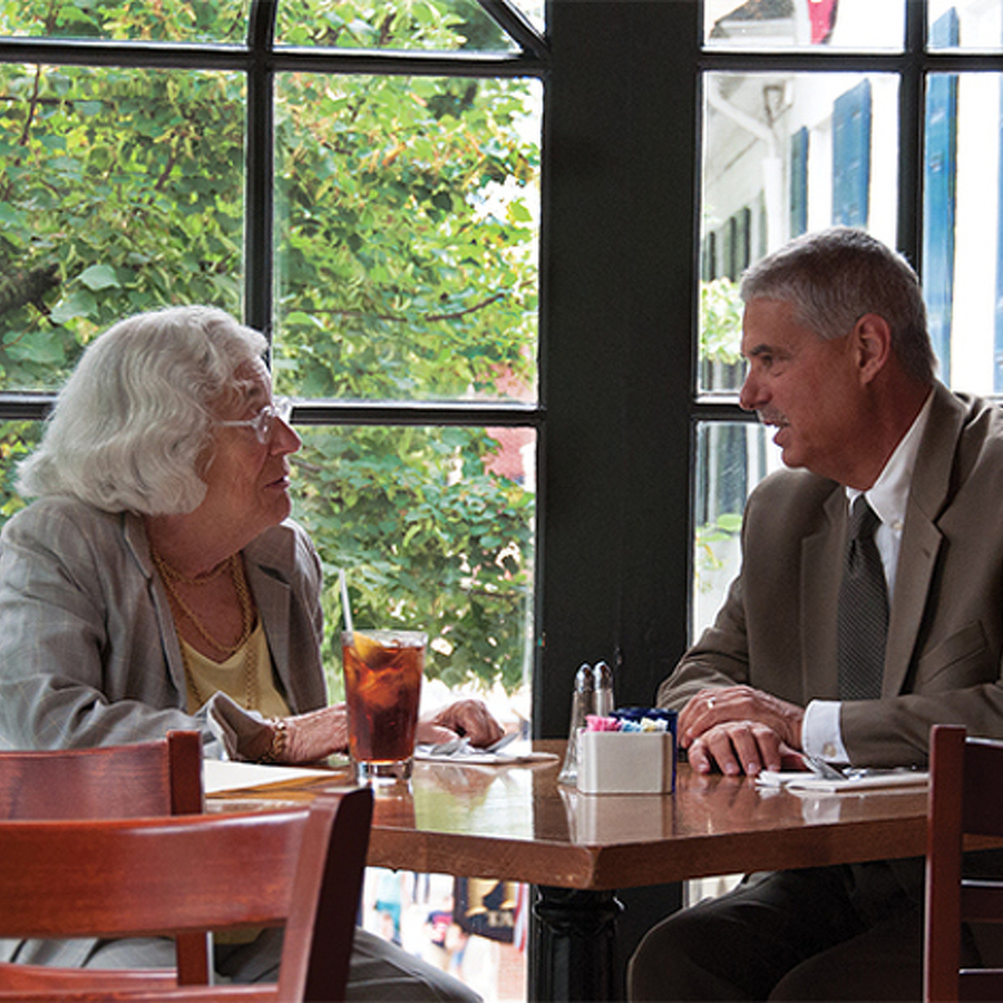 Lunch with Mimi: Borough Manager Tom Fountaine