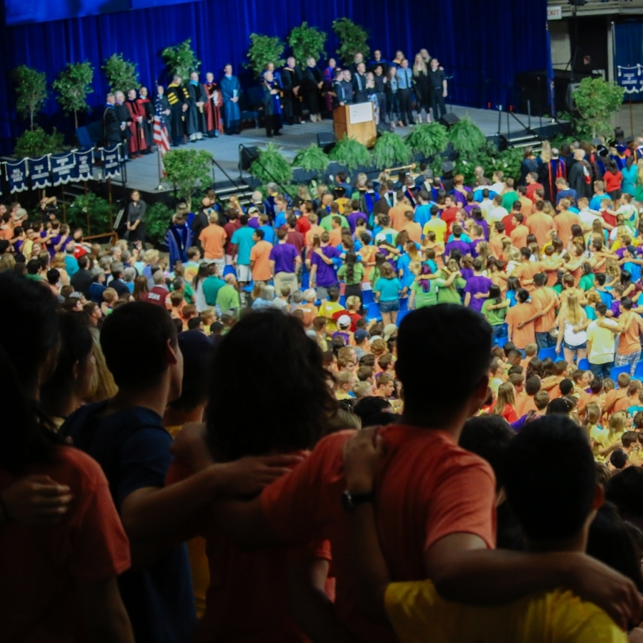 Penn State Welcomes Freshmen at Convocation
