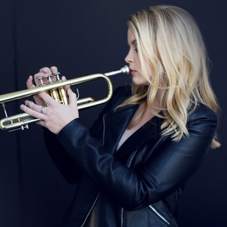 Trumpeter-singer Bria Skonberg to bring hot jazz to Schwab Auditorium