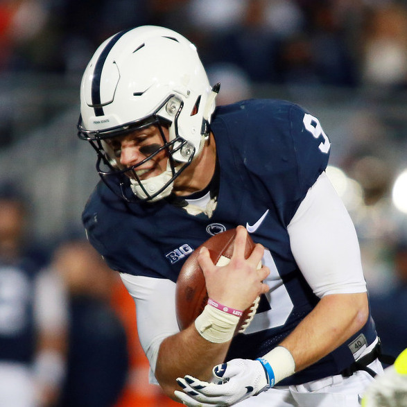 Trace McSorley Earns Rose Bowl Big Ten Player of the Week