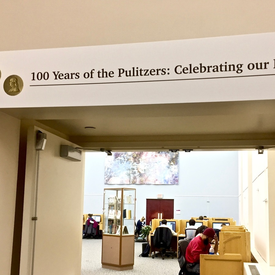 Penn State Libraries exhibit celebrates 100 years of the Pulitzers