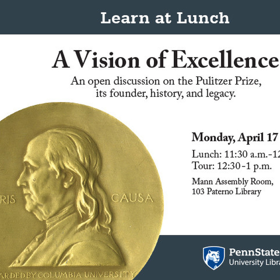 Penn State libraries discussion, tour to focus on Pulitzer Prize