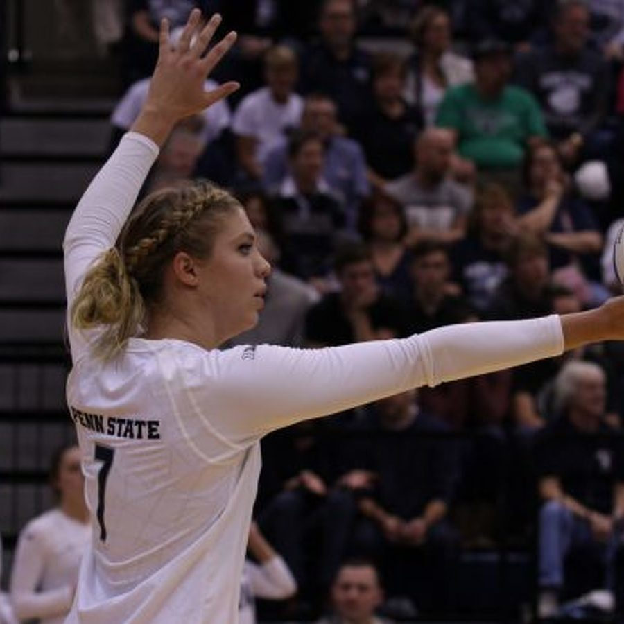Penn State Women's Volleyball Upsets No. 1 Stanford