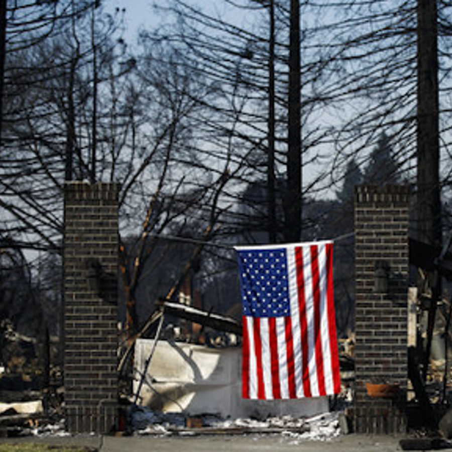 Penn State Student's Home Destroyed in California Wildfires