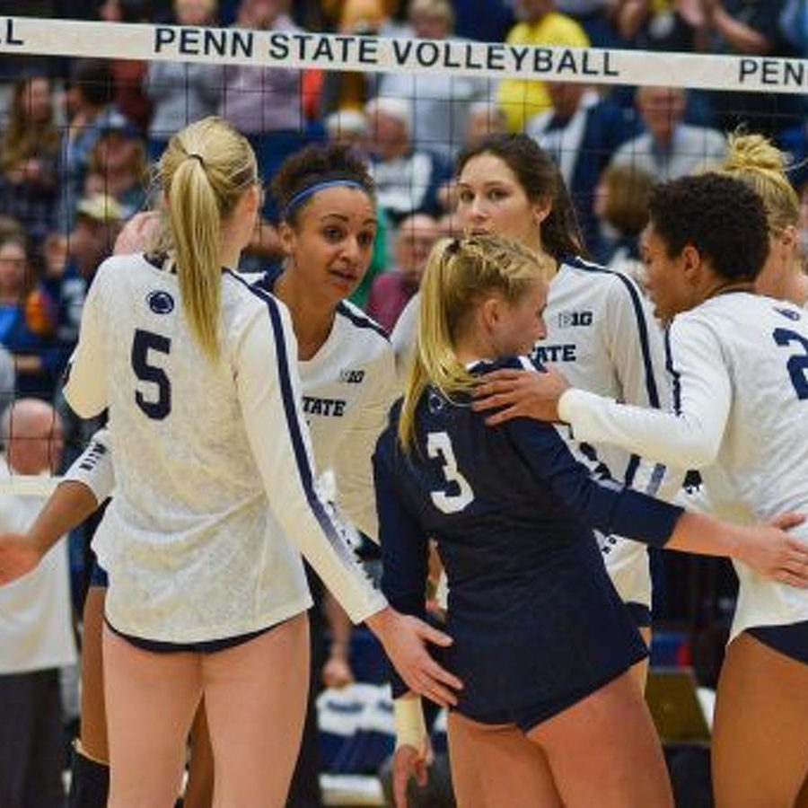 No. 1 Penn State Women's Volleyball Tops No. 11 Wisconsin