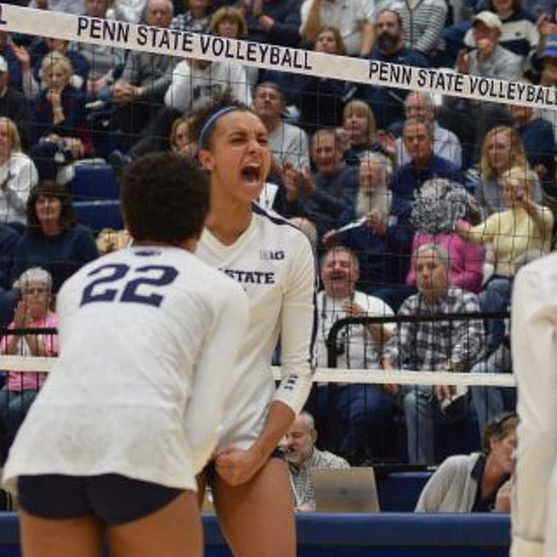 Penn State Women's Volleyball Wins Share of Big Ten Title