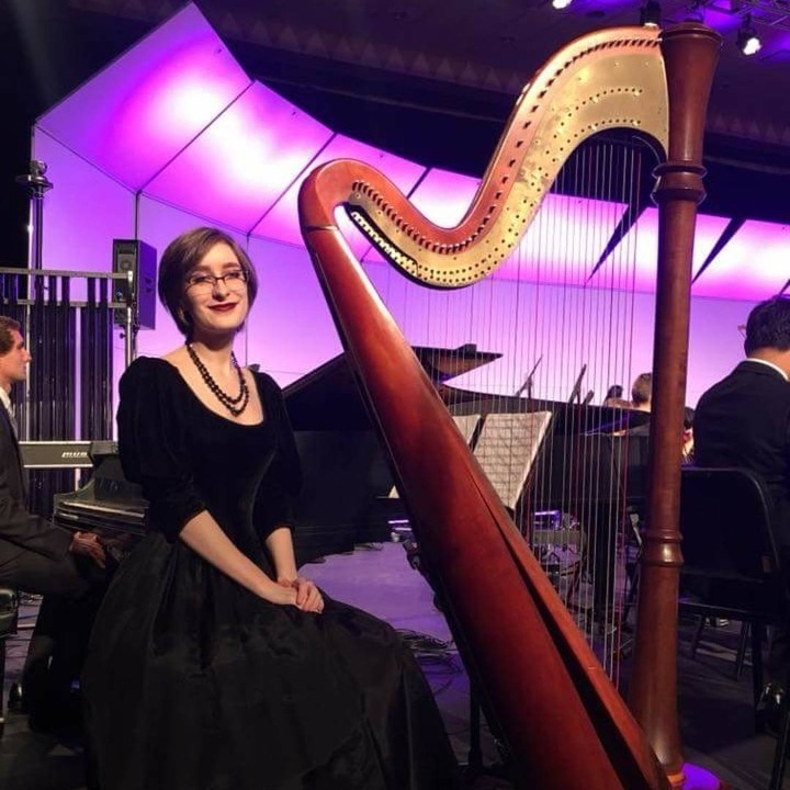 BEA senior harpist receives national recognition
