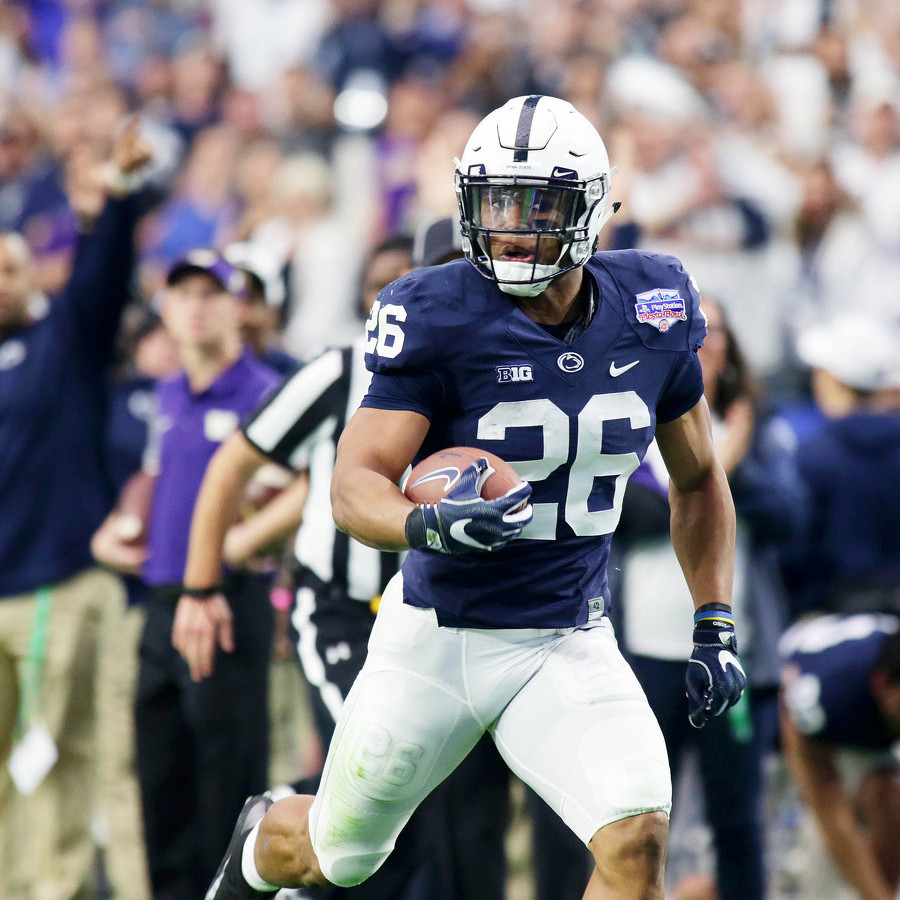 Saquon Barkley Tells College GameDay About His Decision to Leave for the NFL