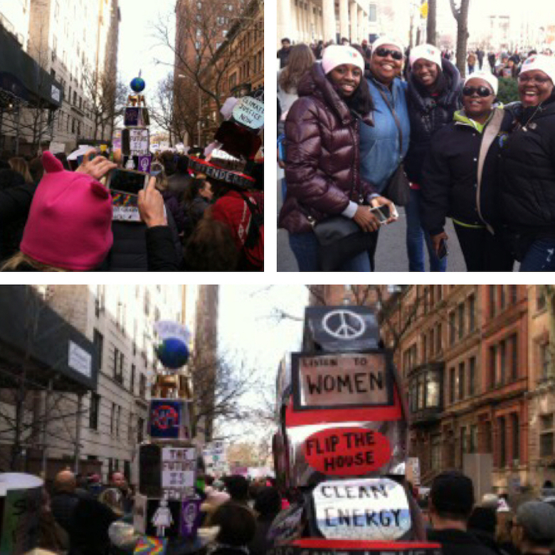 The Women's March: Notes from New York