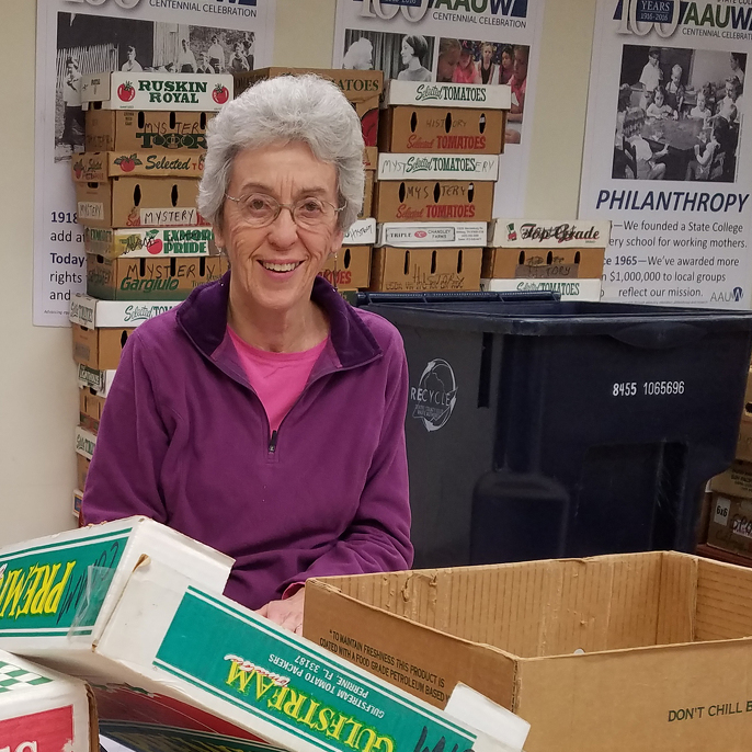 AAUW welcomes used books through March 7