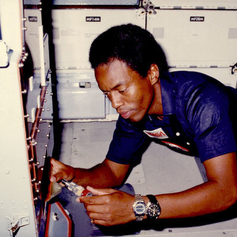 'Guion' highlights Penn Stater who was first African-American in space